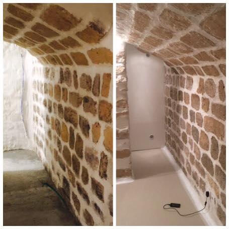 odeurs humidit ambiante dans une cave humidit ou sous sol entreprise pour traitement de l. Black Bedroom Furniture Sets. Home Design Ideas